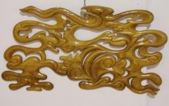 NUAGES - Bois de châtaigner teinté - 135 * 78 cm - 2011