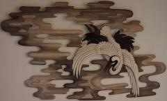 UTOPIE - Châtaigner - patine acrylique - 130 * 98 cm - Médaille de bronze Talence 2012 - SATA 2012