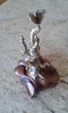 Collection privée - VERS LA LUMIERE - Bronze à la cire perdue - Année 2012