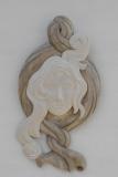 Collection privée - BLANCHE - Châtaigner - céruse blanche patine cendre - 65 * 35 - Année 2012