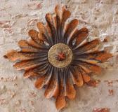 Collection privée - AUREUS - Bois de châtaigner, incrustation de bronze - polychrome