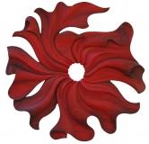 Collection ¨Privée - SYNERGIE - Acrylique sur bois de châtaigner - 90 * 90 cm - 2014