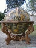 Table support d'un Globe de Coronelli - diam ext 145 cm - style Louis XIV