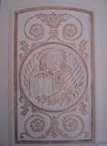 Relookage d'une porte PVC intérieure - Lion de Venise
