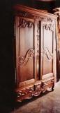 Armoire lorraine - Style mobilier Aubriau - 17ème