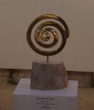 Bronze à la cire perdue et marbre