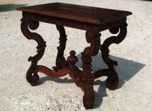 Table de chasse style Louis XIV