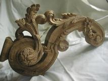 Torchère style Louis XIV - Détail piètement